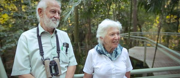 Emeritus Professors Peter and Rosemary Grant received the Royal Medal in Biology
