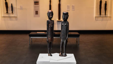 The Sculptures of Atauro Island exhibition will run until 17 July