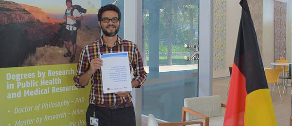 CDU Menzies HDR student Bernard Leckning's PhD project helped inform the guidelines