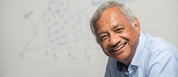 "Economics senior lecturer Dr Ram Vemuri, co-author of ""The Ethics of Silence"""