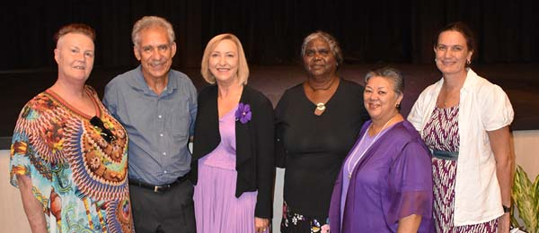 Presenters at this year's Northern Institute International Women's Day event. This was the ninth year the institute has held an event marking International Women's Day