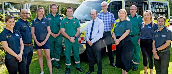 St John NT and CDU have signed an MoU that will see a new Bachelor-level degree in paramedic science on offer