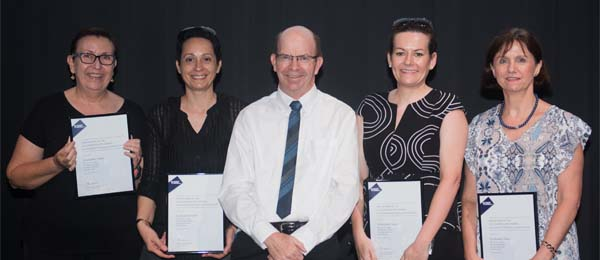 The Vice-Chancellor's Award for Exceptional Performance by a team went to the Student Administration and Equity Services graduation team