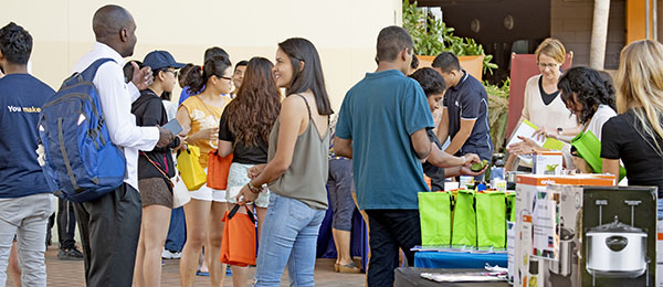The International Student Pop Up Cafe has proven popular since its inception earlier this year