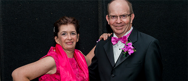 The NT's newly crowned Tango Champions Margaret McGregor and Professor Simon Maddocks