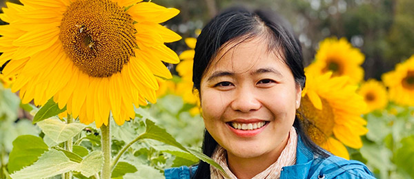 Biosecurity threat researcher Dr Thi Tam Duong