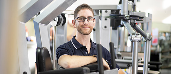 Health Science PhD candidate Tim Howarth