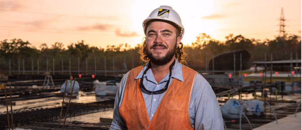 Former CDU apprentice Rory Milner won the Austin Asche Award last year before going on to win an Australian Training Award