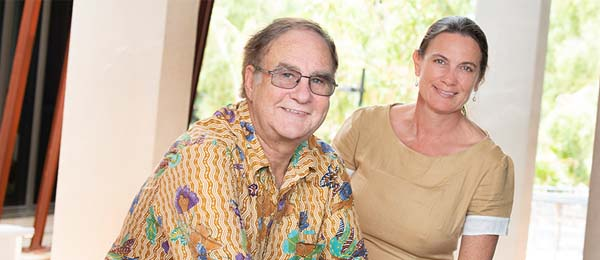 Professors Greg Shaw and Ruth Wallace are heading up Indigenous Futures, Arts and Society and Education respectively