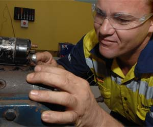 The program is aimed at people in the Katherine region interested in an apprenticeship in automotive or engineering trades
