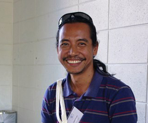 PhD candidate Jayson Ibanez has been awarded for his biodiversity conservation work in the Philippines