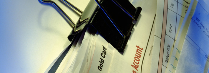 close up image of paper and a foldback clip