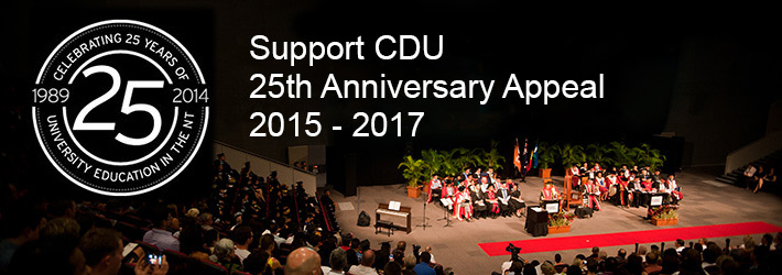Support CDU 25th anniversary banner