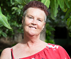 CDU researcher Dr Belinda Chaplin is investigating the experiences of trans and gender diverse Australians living with HIV. Photo: Julianne Osborne