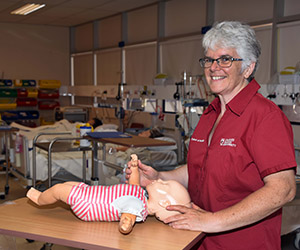New Midwifery lecturer Dr Angela Bromley