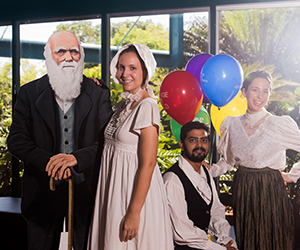 Territorians will celebrate the 208th birthday of naturalist, Charles Darwin at Casuarina campus