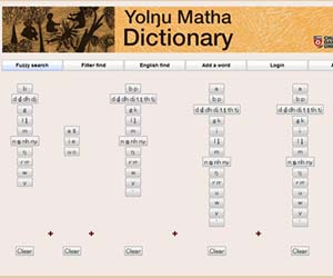 The first online searchable and extendable Yolngu Matha (Languages) dictionary has been launched by CDU