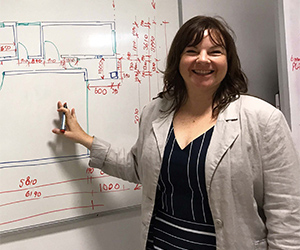 Building Technology Lecturer Lisa Jeffery