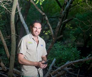 Charles Darwin University PhD candidate Clint Cameron