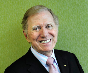 CDU Professorial Fellow, The Hon Michael Kirby AC CMG.
