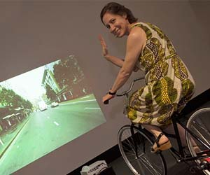 Art Gallery Curator Kellie Joswig takes a spin through the streets of Sydney