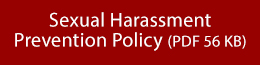 Link to Sexual Harassment Policy