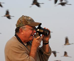Dr George Archibald will share stories about crane conservation at his public talk