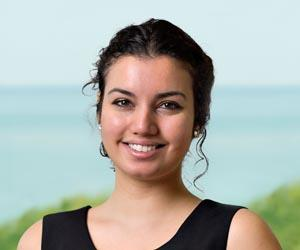 CDU student Luxmy Chandran is one of six Australians selected to take part in a work experience program in London with international law firm, Herbert Smith Freehills