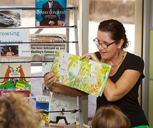 Storytime will be a magical event at Open Day. Pictured: Sandra Kendall