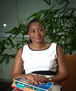 Carine Kapiamba-Tshimbu says she has received ample study opportunities since moving from Africa to Darwin on a Humanitarian Visa.