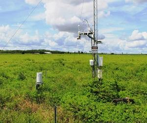 Flux towers are monitoring carbon and water fluxes across the NT