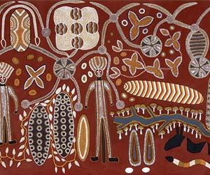 Yurrbari, 1991. Courtesy Museum and Art Gallery of the NT