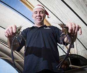 Chadd Mumme recommends eating locally caught fish for Christmas