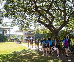 About 300 students attended this year's event at Casuarina campus. Photo: 2015 Year 10 Discovery Day