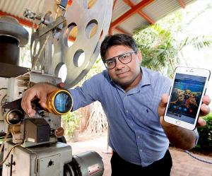 Darwin filmmaker and Charles Darwin University (CDU) Business Lecturer Dr Abhishek Shukla has secured a patent for a new means of distributing films