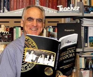 Associate Professor George Frazis is thrilled about CDU's Greek and Hellenic studies first major publication