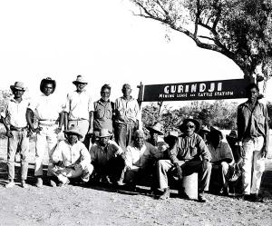 Gurindji men at Wattie Creek, 1967