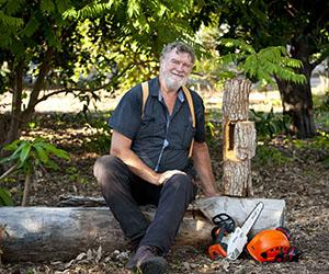 Arboriculture lecturer Phil Kenyon will demonstrate special techniques using a chainsaw to create habitat holes from wood