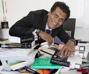 Chair of Accounting and Finance Professor Indra Abeysekera.