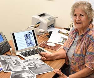 CDU Nursing Museum curator Janie Mason says it is important to recognise the stories of NT nurses