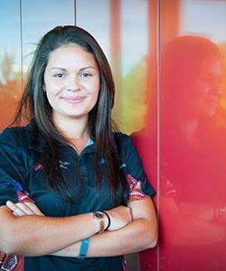 Indigenous youth leader Joelene Puntoriero will help build a classroom at an orphanage near the Kokoda Track in Papua New Guinea.