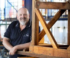 Construction trainer Mark Fudge is a finalist in the NT Training Awards