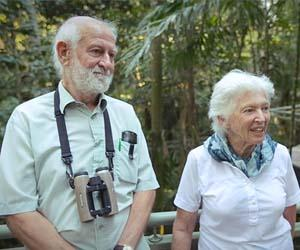 Charles Darwin Scholars emeritus professors Peter and Rosemary Grant will feature in new content for a free online course delivered by CDU