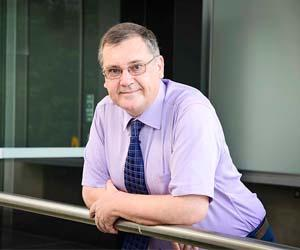 Professor Brian Mooney will deliver the first Charles Darwin University Professorial Lecture for 2016