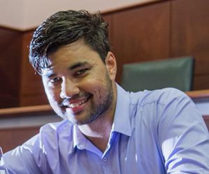 Law student Mark Munnich is the 2017 NT Young Achiever of the Year