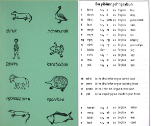 Extracts from Kunwinjku books in the Living Archive of Aboriginal Languages