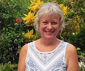 Ms Polly Smart: CDU's new Nhulunbuy campus Administrator.