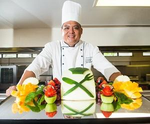 The course aims to carve out career paths for aspiring chefs. Pictured: CDU Commercial Cookery and Bakery lecturer Antonio Tjung