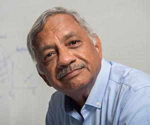 """Economics lecturer Dr Ram Vemuri, co-author of """"The Ethics of Silence""""."""