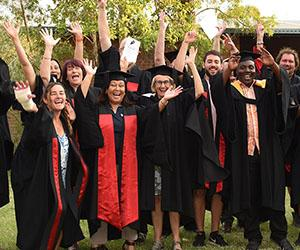 Staff and students celebrate in Tennant Creek